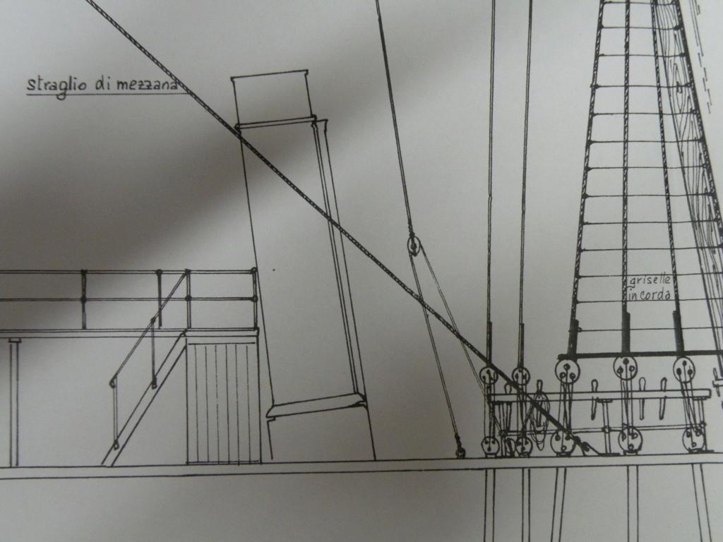 vele - costruzione di goletta, liberamente ispirata a piroscafo cannoniera del XIX secolo - Pagina 16 Dscn9914