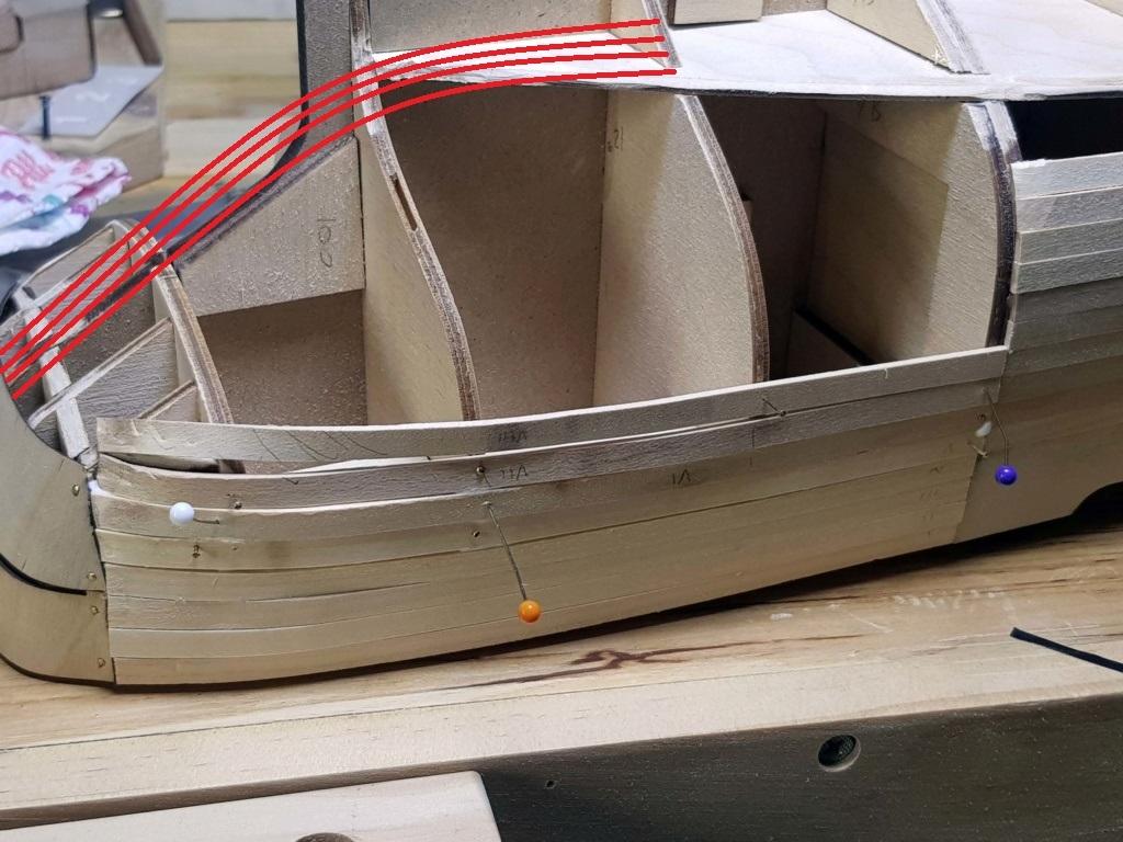 Levigatura scafo Amerigo Vespucci  Gi10