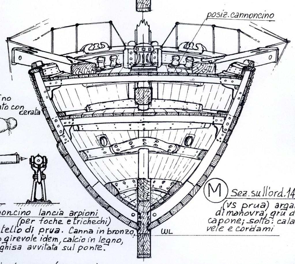 vele - costruzione di goletta, liberamente ispirata a piroscafo cannoniera del XIX secolo - Pagina 16 Golett15