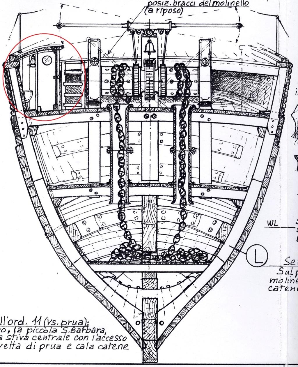 vele - costruzione di goletta, liberamente ispirata a piroscafo cannoniera del XIX secolo - Pagina 16 Golett17