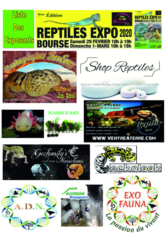 REPTILES EXPO BOURSE VICHY 29 FÉVRIER ET 1 MARS 2020 4_list10