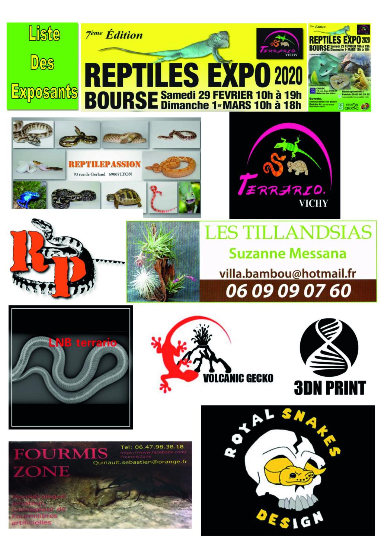 REPTILES EXPO BOURSE VICHY 29 FÉVRIER ET 1 MARS 2020 6_list10