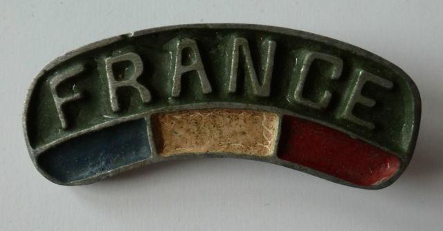 "Title ""France"" en aluminium 24331710"