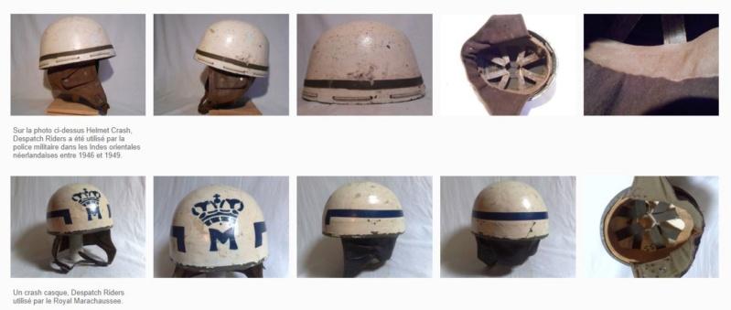 Rare casque anglais Mp 50 th division infanterie ww2 Normandie  Captur43