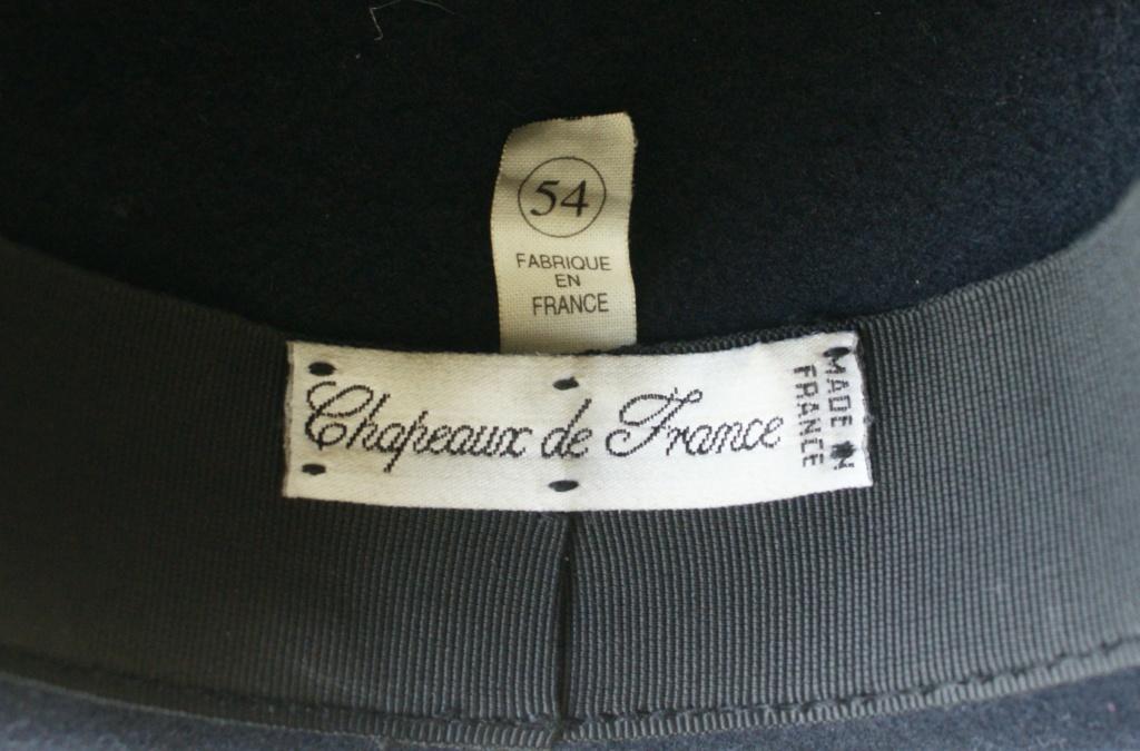 Le tricorne dans l'armée française - présentez vos exemplaires - Page 2 Dsc08722