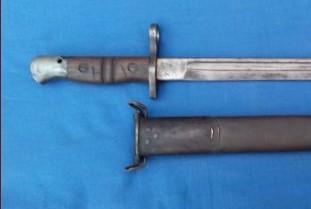 baionnette US M 1905,fusil M1903 Springfield, M1 Garand Gj10