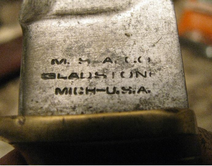 Couteau Marbles - datation Mar10
