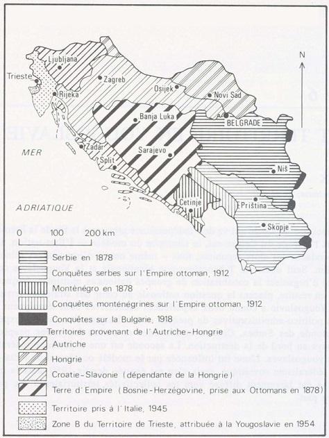 ONU 1993 EX-YOUGOSLAVIE  Sans-t29