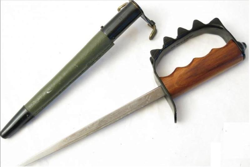 Deux Trench knife pour authentification et estimation  Tk10