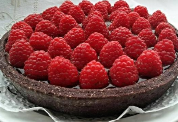 crostata cioccolato bianco e lamponi 20200910