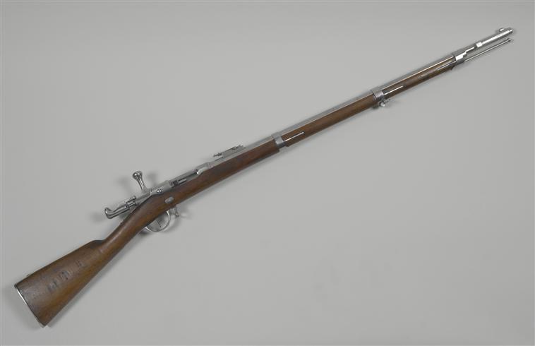 Fusil chassepot du contrat CAHEN-LYON fabriqué à Vienne (Autriche) Chasse10