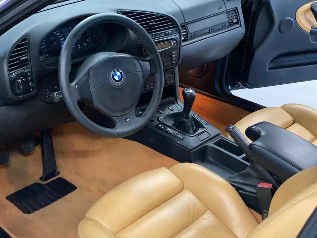 M3 e36 3.2 bmv6 cab cosmoschwarz cuir Modena  B3ae4110