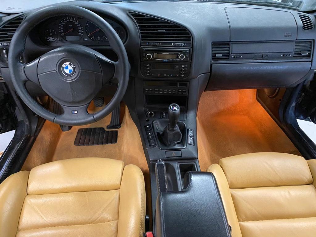 M3 e36 3.2 bmv6 cab cosmoschwarz cuir Modena  E83daf10