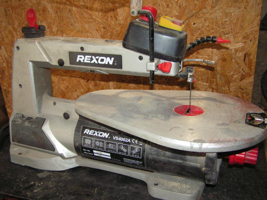 Recherche notice utilisation Scie à chantourner Rexon 4002A Pict2553