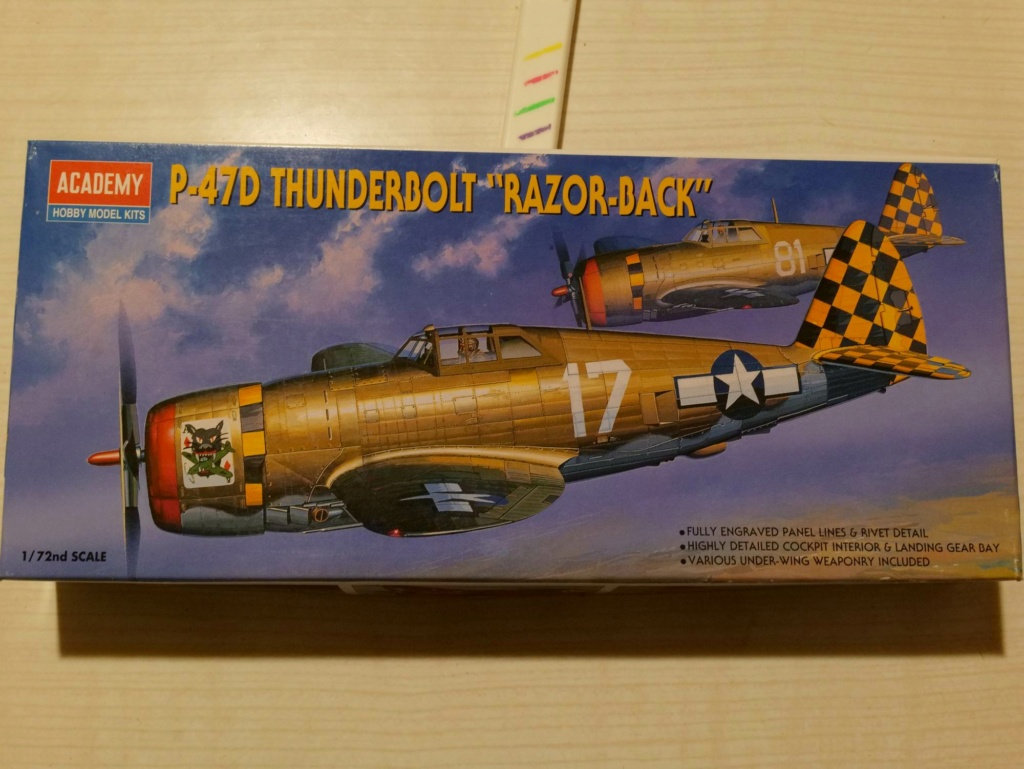 [ACADEMY] REPUBLIC P-47D THUNDERBOLT RAZOR BACK 1/72ème Réf 2175 000_ac10