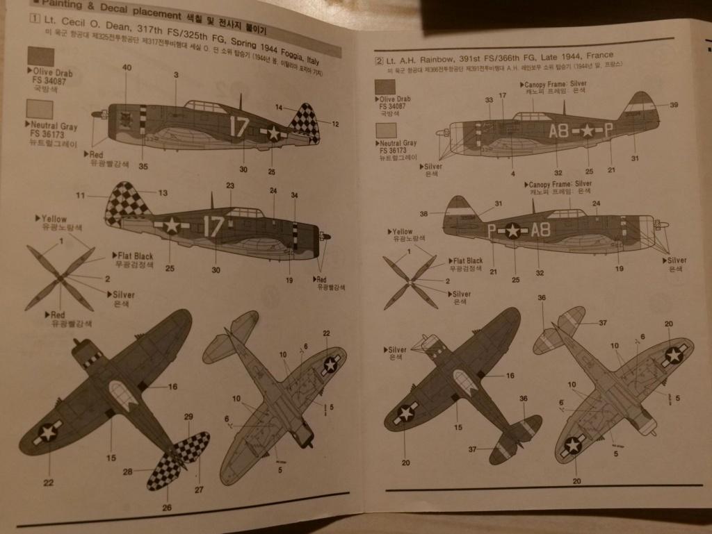 [ACADEMY] REPUBLIC P-47D THUNDERBOLT RAZOR BACK 1/72ème Réf 2175 000_ac13