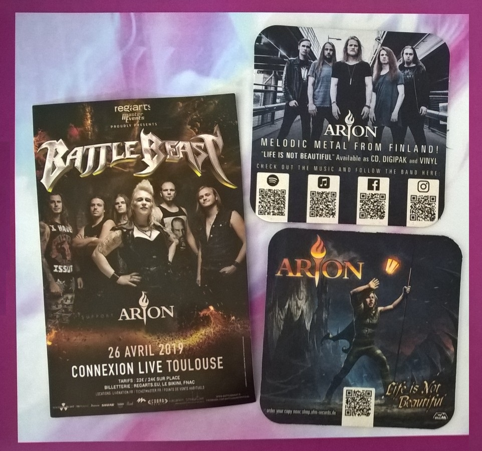 Arion + BATTLE BEAST - Connexion Live Toulouse 26042019 Wp_20110