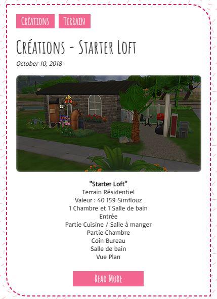Le Monde de FannyChou'- Blog de Sims - Page 3 Starte10