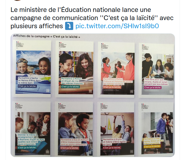 """""""C'est ça la laïcité"""" Lazcci10"""