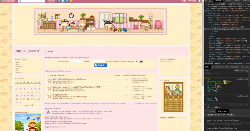 [phpBB3]Rahmen um das ganze Forum und die Startseite breiter stellen Border10