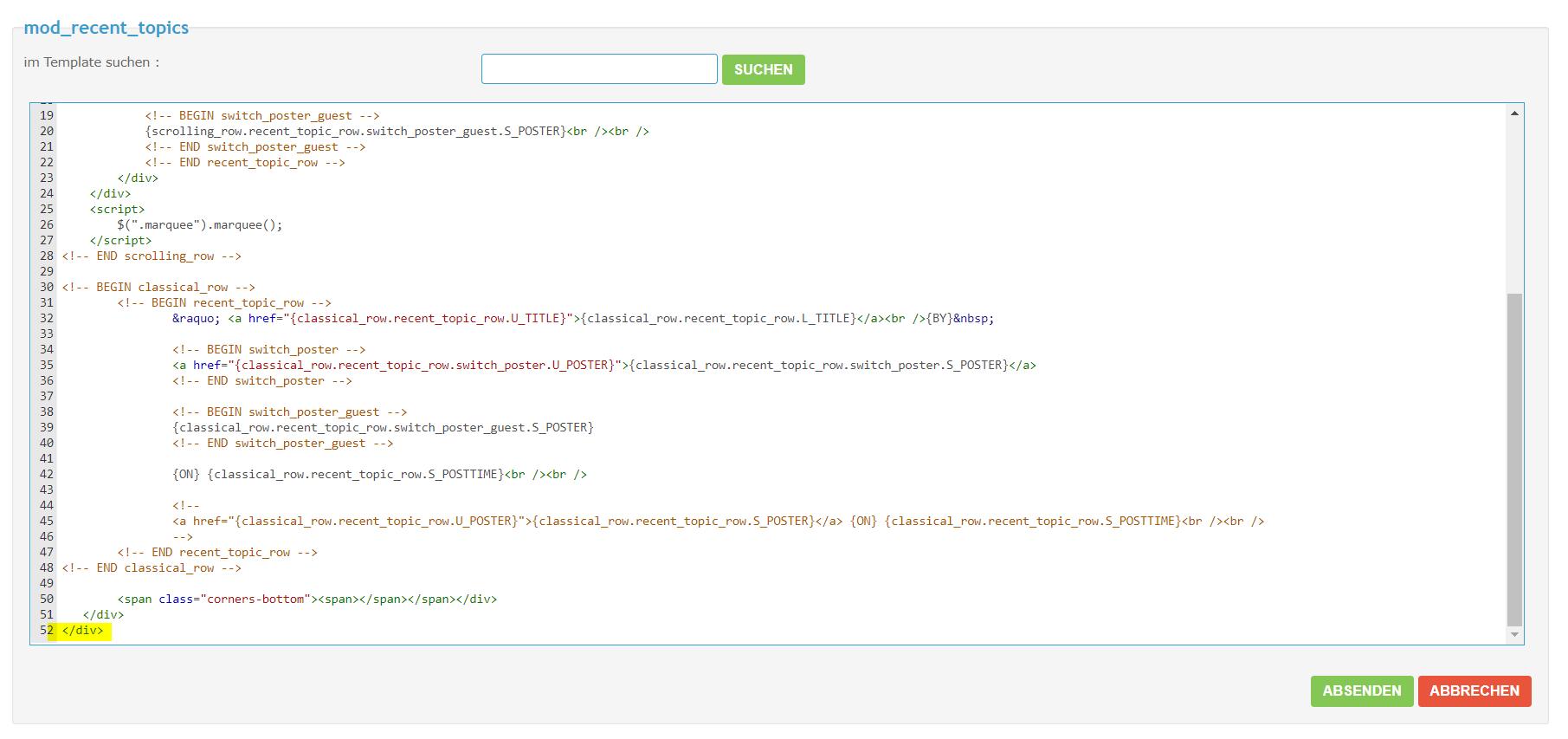 CSS individueller Module anpassen Meinei11