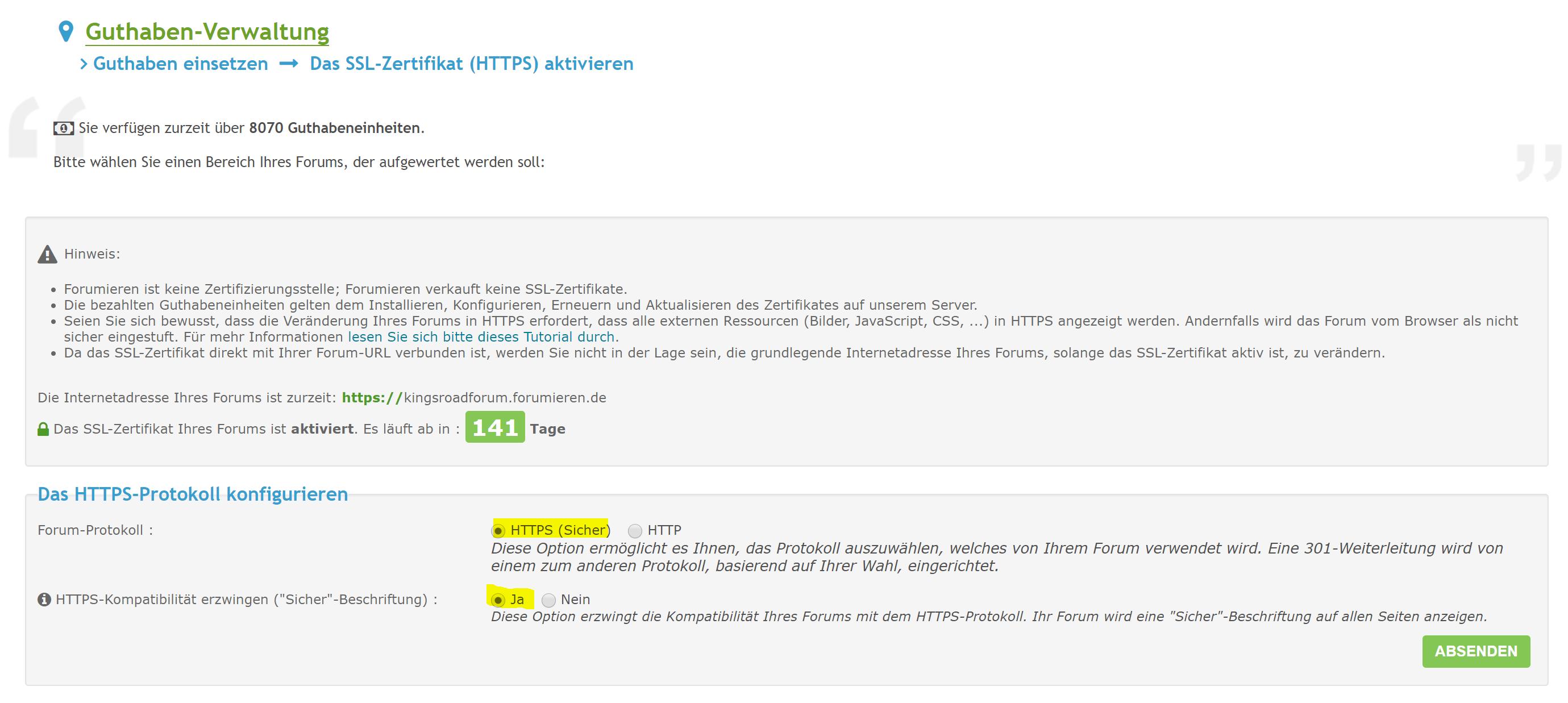[#14826] Warnungen trotz SSL/HTTPS  Unbena11