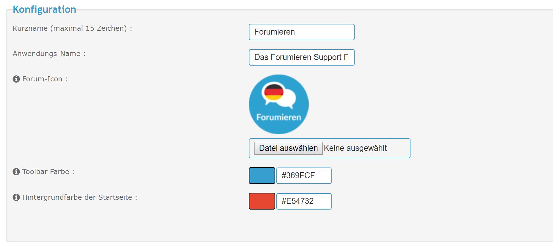 [Neue Funktion] Progressive Web App (PWA) in Forumieren-Foren verfügbar Unbena12