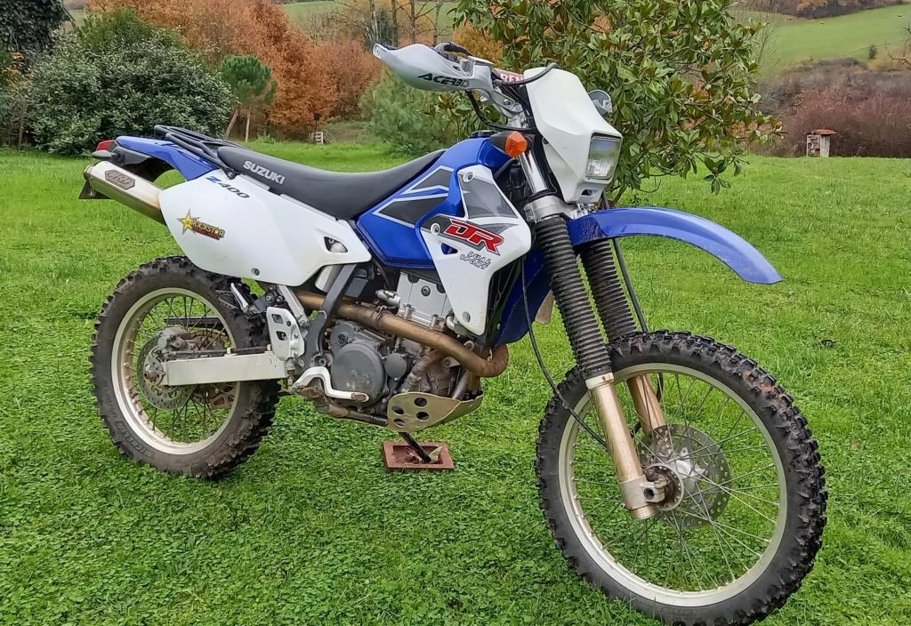 Vends Suzuki 400 DRZ-S 0111