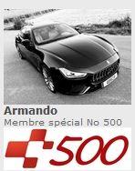 500 membres au club Casa Tridente Amando10