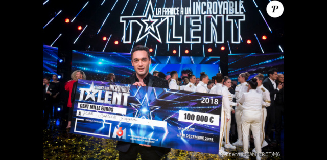 Jean-Baptiste Guégan gagnant de La France a un incroyable talent 2018 45016110