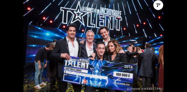 Jean-Baptiste Guégan gagnant de La France a un incroyable talent 2018 45016111