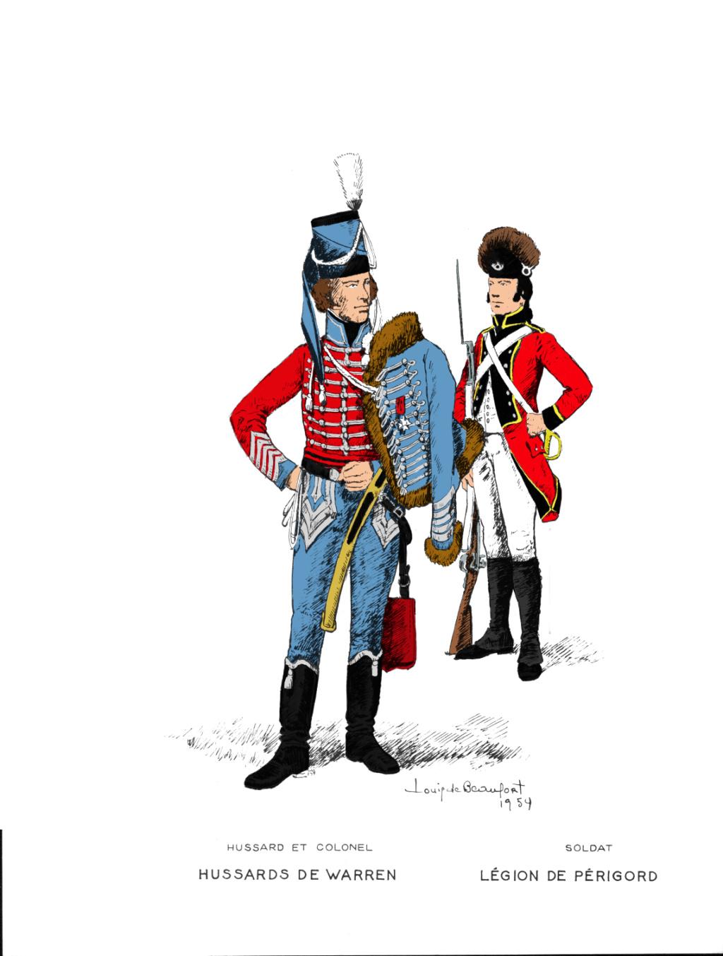 Quiberon, sa côte, ses chouans, ses bastons - Page 7 Hussar10