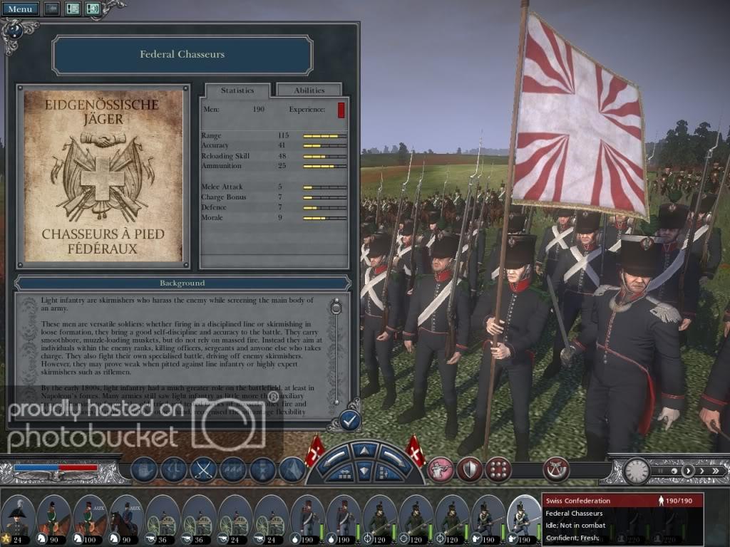 Armée suisse de 1815 Swissf10