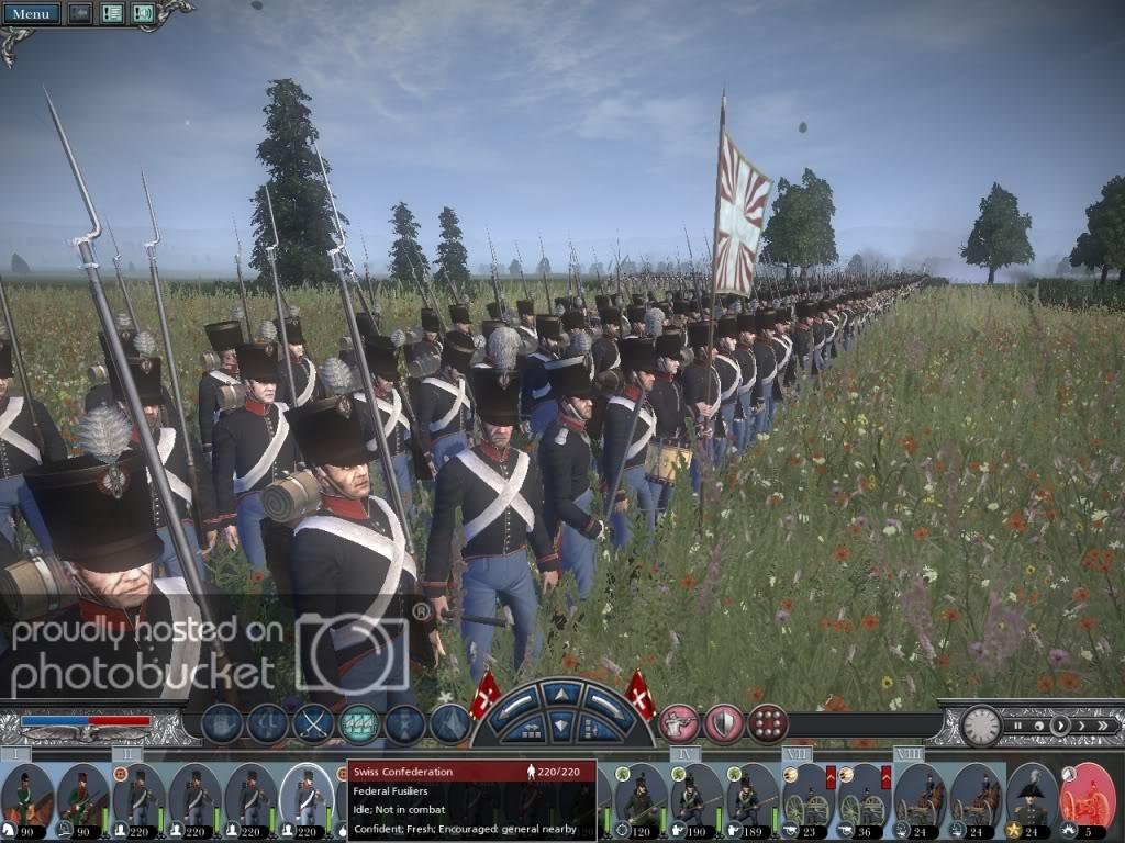 Armée suisse de 1815 Swissf11