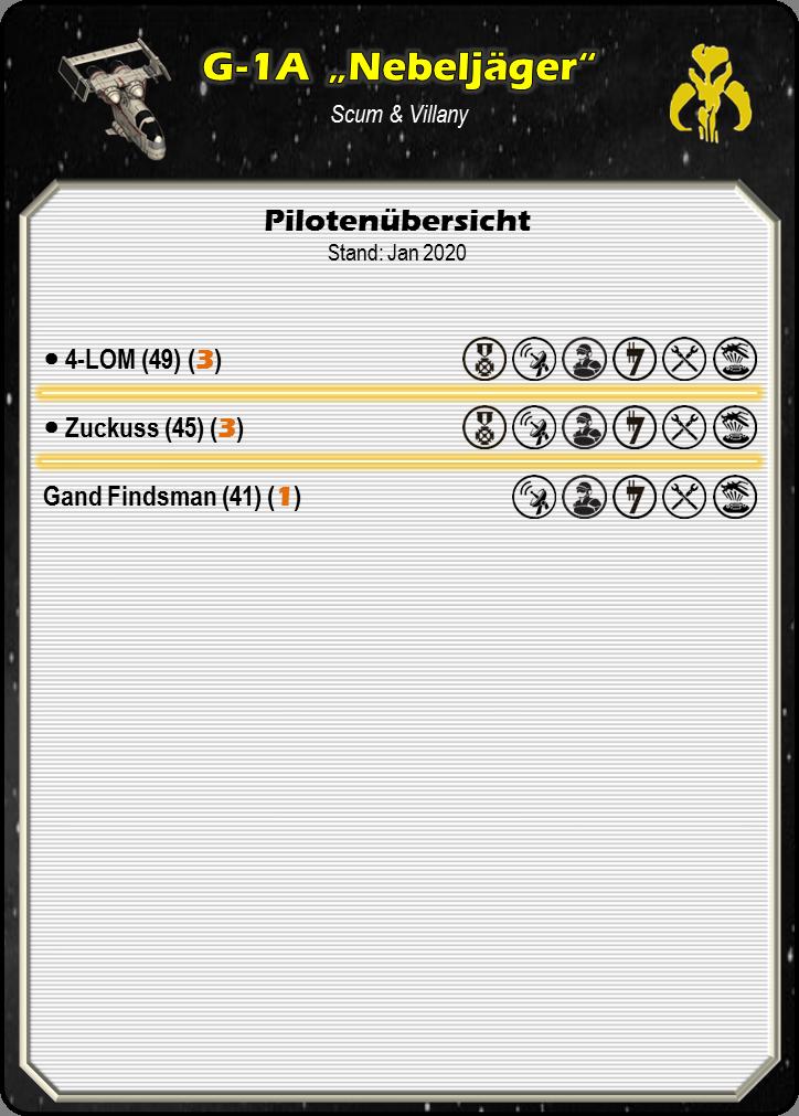 """[Schiffsbeschreibung] G-1A Sternenjäger """"Misthunter""""  001_s407"""