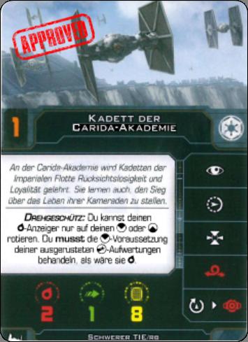 """[Schiffsbeschreibung] Tie /BR Heavy """"Brute"""" Kadett10"""