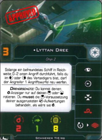"""[Schiffsbeschreibung] Tie /BR Heavy """"Brute"""" Lyttan10"""