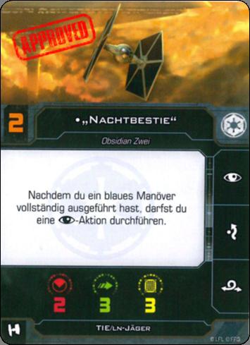 [Schiffsbeschreibung] TIE Jäger (TIE Fighter/LN) Mer-t106