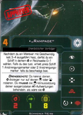 """[Schiffsbeschreibung] Tie /BR Heavy """"Brute"""" Rampag10"""