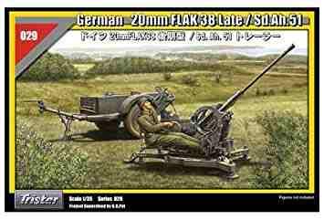 Tamiya German 3ton 4x2 Cargo Truck (Opel Blitz) με  20mm Flak 38 της Tristar Imgonl17
