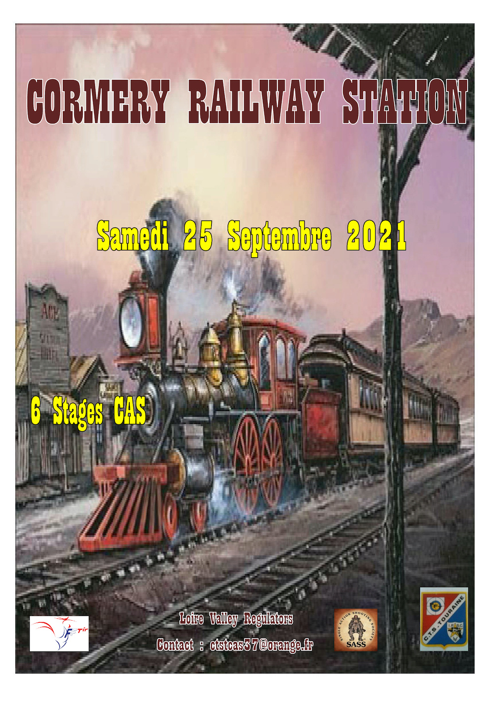 Cormery Railway Station Affich13