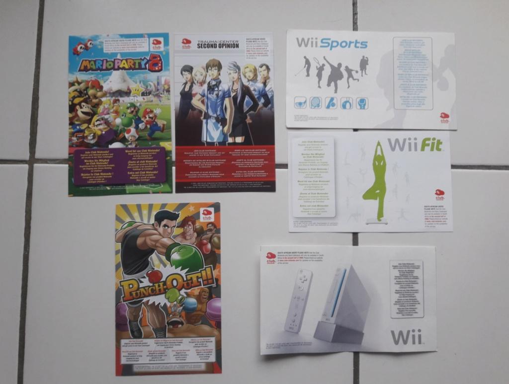 [ECH] Lot de Points VIP (gamecube, ds...)+ Lot de poster, encarts et cartes Sega et Nintendo 20191011