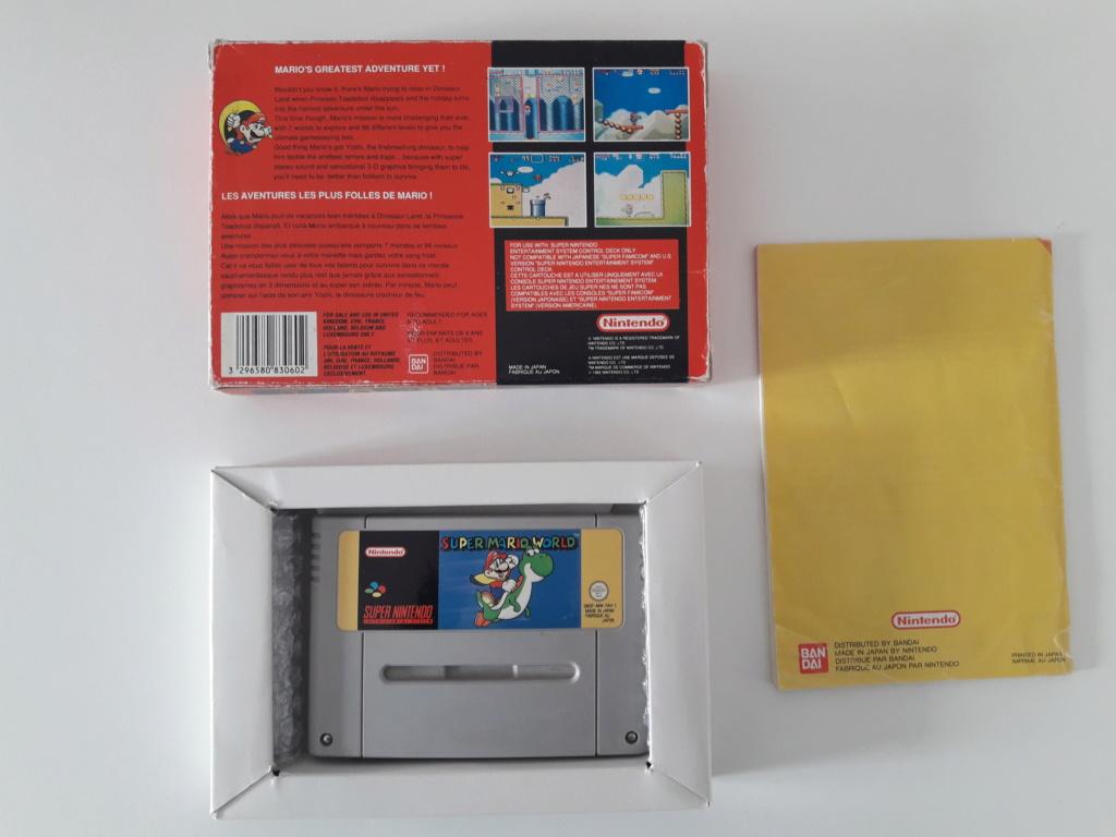 [Vends] Beaux jeux complet ou neufs Super Nintendo, Nintendo 64, Gamecube, Switch et 3DS 20191117