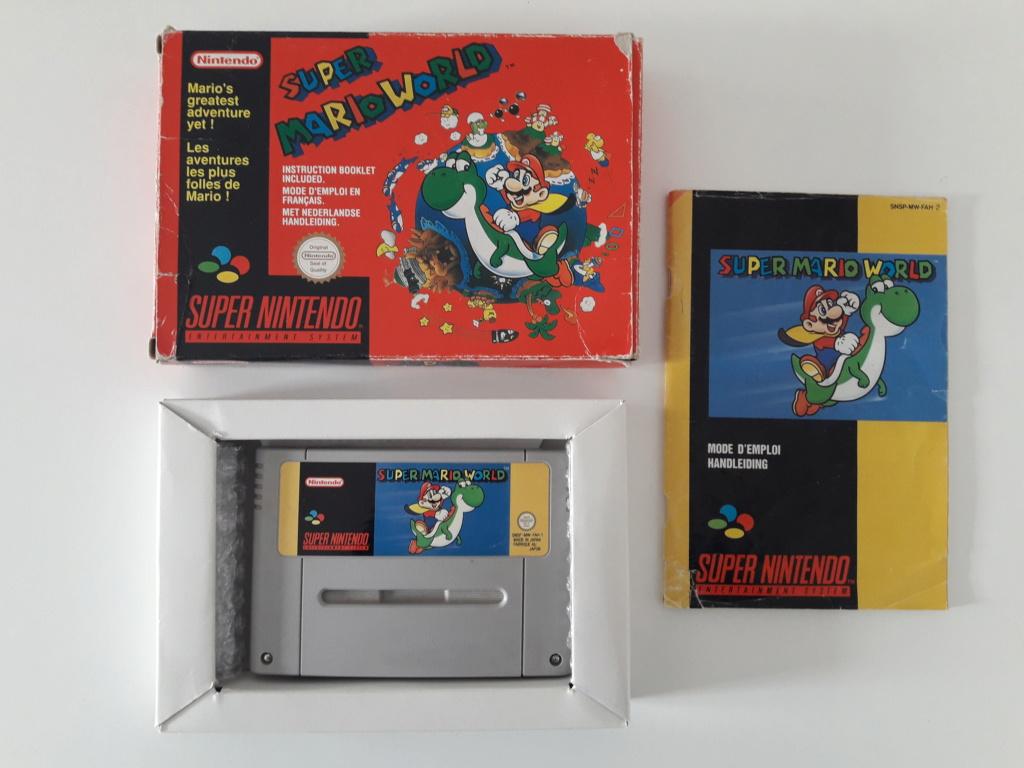 [Vends] Beaux jeux complet ou neufs Super Nintendo, Nintendo 64, Gamecube, Switch et 3DS 20191118