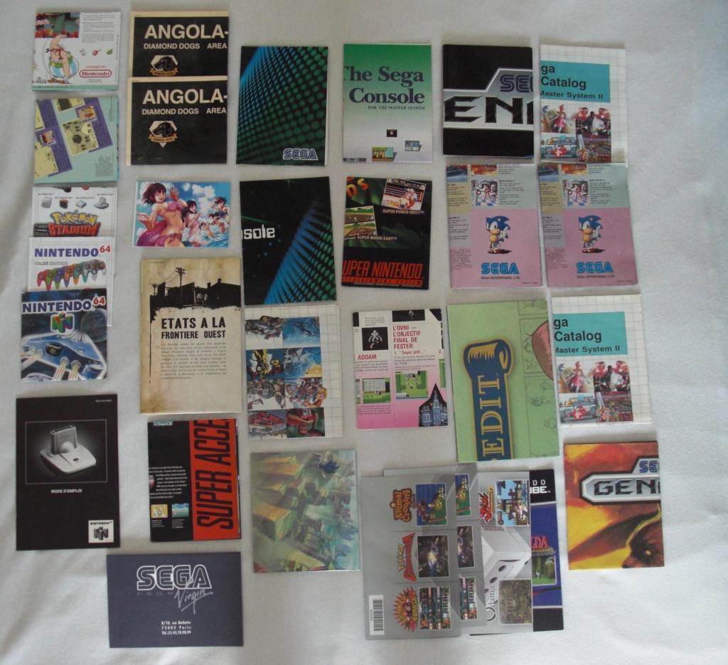 [ECH] Lot de Points VIP (gamecube, ds...)+ Lot de poster, encarts et cartes Sega et Nintendo Cimg1312