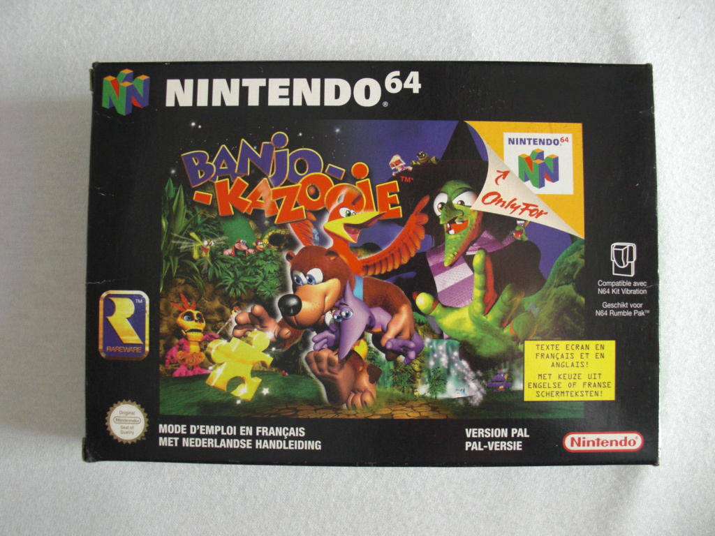 [Vends] Beaux jeux complet ou neufs Super Nintendo, Nintendo 64, Gamecube, Switch et 3DS Cimg1315