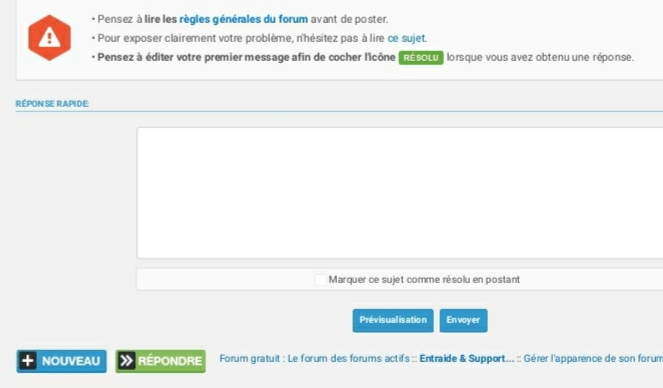 """Apparence """"répondre"""" avec Firefox sur smartphone  20200111"""