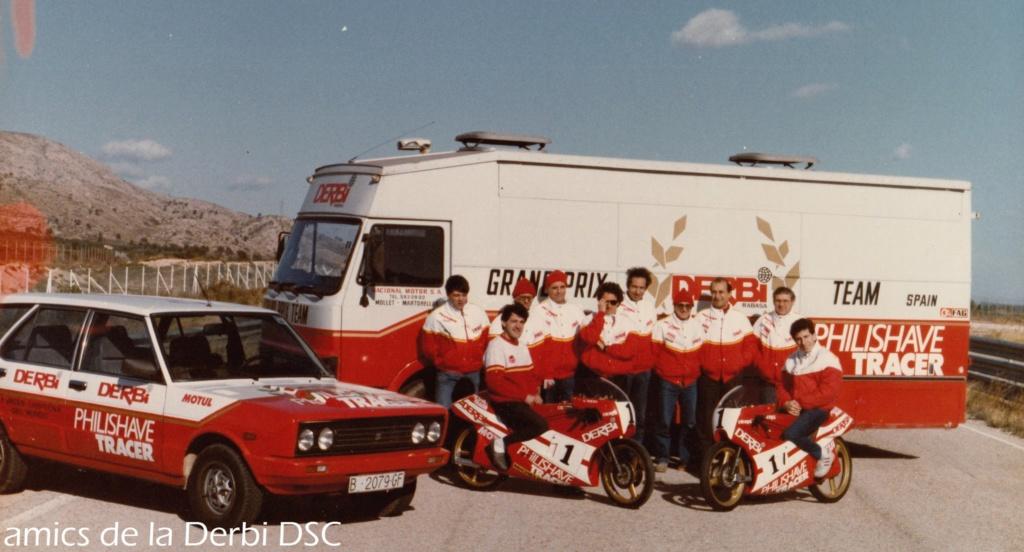 derbi - Camión Grandes Premios equipo Derbi 10005910