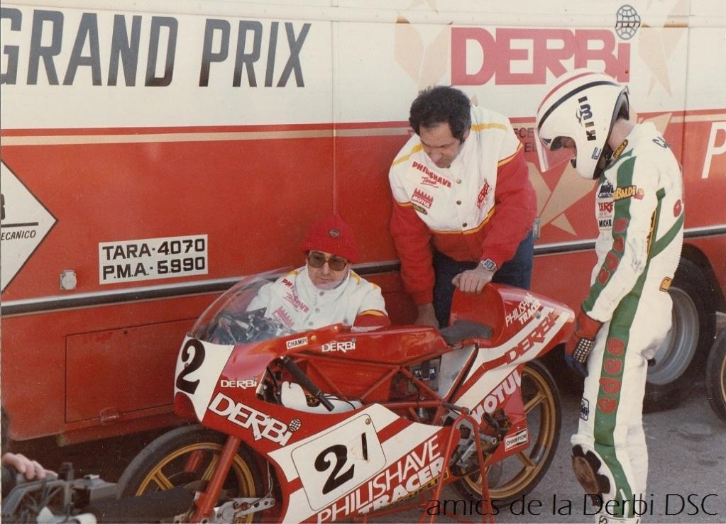 derbi - Camión Grandes Premios equipo Derbi 10321610