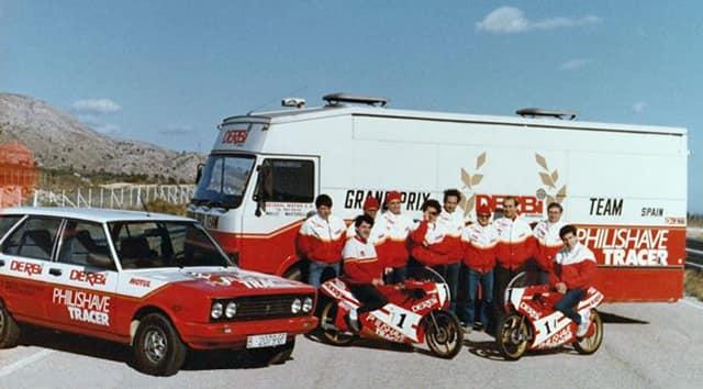 derbi - Camión Grandes Premios equipo Derbi 31395610